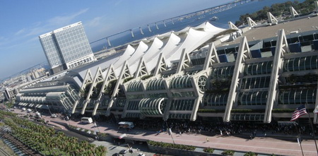 Comic Con takes place in the San Diego Convention Center