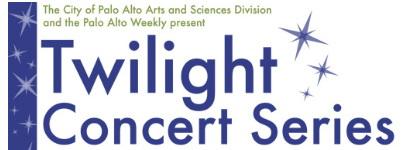 Palo Alto Twilight Concert Series (free concerts)