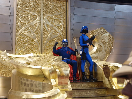 THOR - Cobra Commander Takes over Asgard at Comic Con