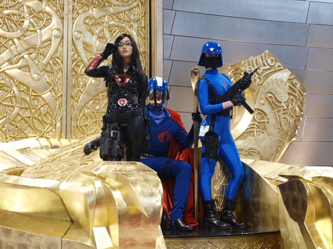 THOR - Cobra Commander Takes over Asgard at Comic Con 01