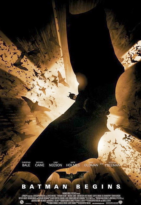 Christopher Nolan's BATMAN BEGINS