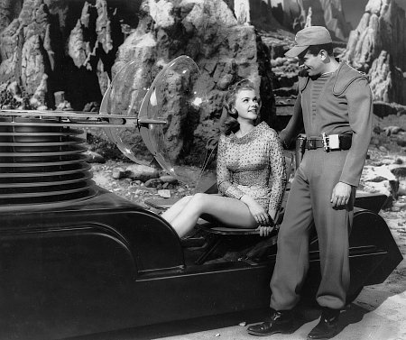 FORBIDDEN PLANET with Leslie Nielsen and Anne Francis
