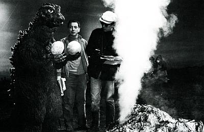 Godzilla and Teriyoshi Nakano
