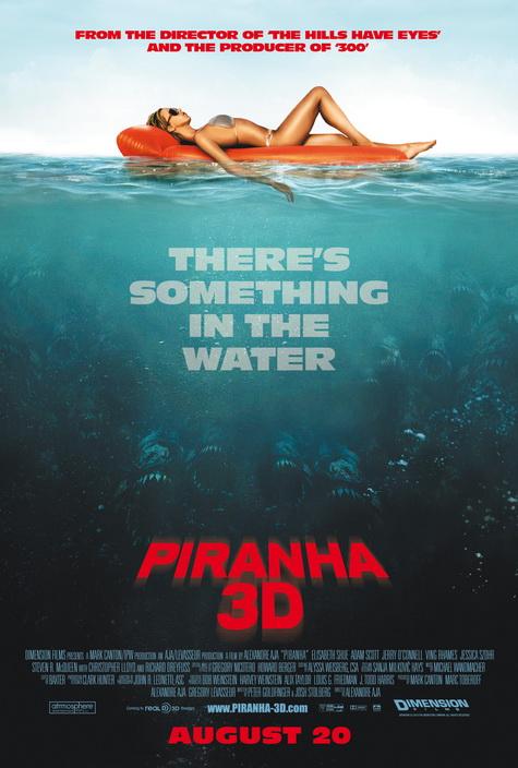 PIRANHA 3D Promo Art 2