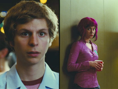 SCOTT PILGRIM Michael Cera and Mary Elizabeth Winstead