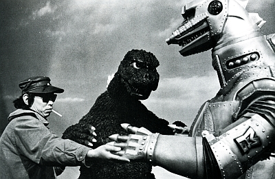 Teruyoshi Nakano Godzilla and Mecha Godzilla