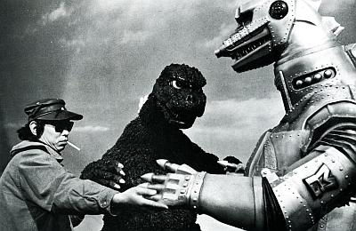 Teruyoshi Nakano Godzilla and Mecha Godzilla