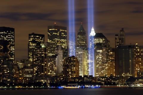 9/11 Memorial Lights -2