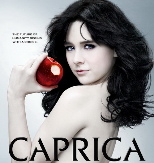 Alessandra Torresani as Zoe Graystone in Syfy Channel's Caprica