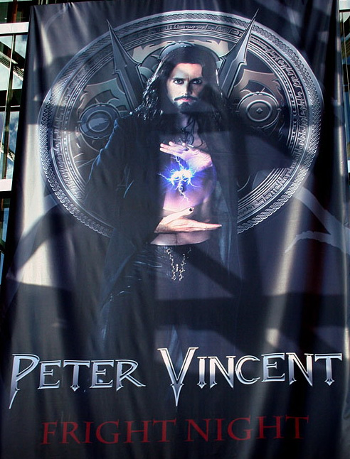 DAVID TENNANT as Peter Vincent in FRIGHT NIGHT Remake
