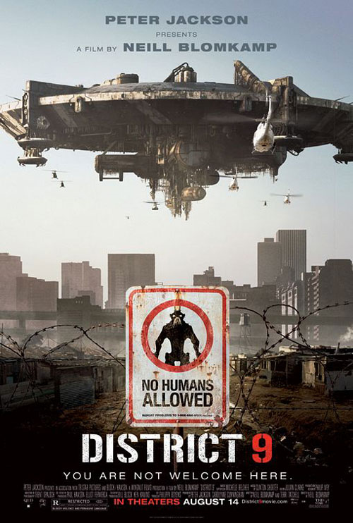 DISTRICT 9 Promo Art
