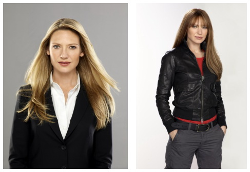 Fringe - Anna Torv as Olivia and Altenate Olivia