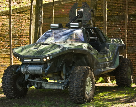 HALO Reach Warthog ATV