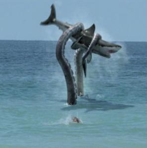 Sharktopus on the Syfy Channel