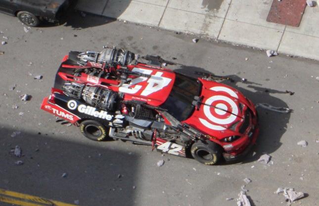 Transformers 3 Detroit Set - Juan Pablo Montoya's NASCAR Sprint Cup Bot