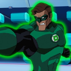 Green Lantern The Animated Series from Cartoon Network premiering in 2012