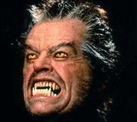 Jack Nicholson as a Werewolf in Wolf (1994)