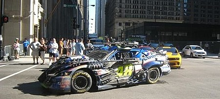 Jimmie Johnsons No 48 NASCAR Chevy in Transformers 3