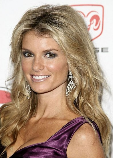 Marisa Miller at a Celebrity Softball Game