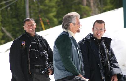 Stephen J Cannell in Syfy Channels 2006 Ice Spiders