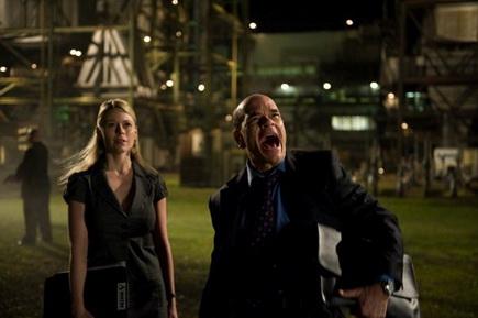 Syfy Channels Monsterwolf - Amber Bartlett and Robert Picardo