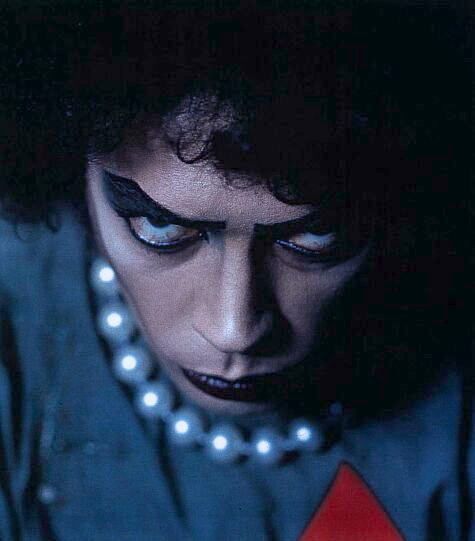 Tim Curry stars as Dr. Frank-N-Furter in The Rocky Horror Picture Show