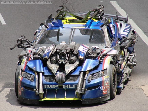 Transformers 3 No 48 Jimmie Johnson NASCAR Cup Car