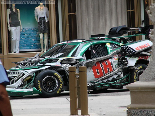 Transformers 3 No 88 Dale Earnhardt Jr NASCAR Cup Car