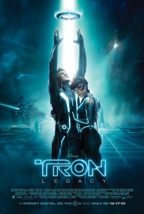 Tron: Legacy 10-19-10 movie poster