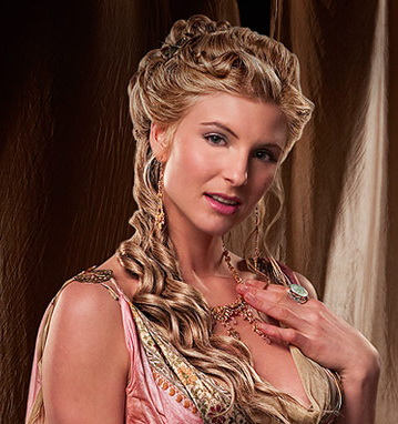 Viva Bianca as Ilithyia in Spartacus Blood and Sand
