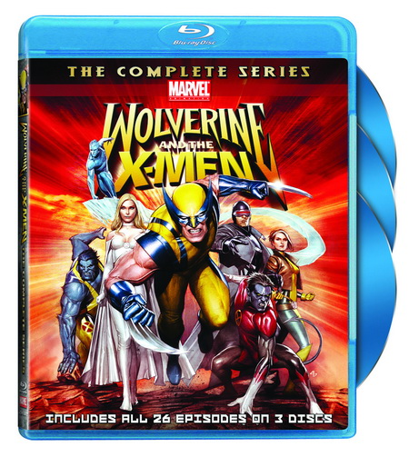 Wolverine and the X-Men - on Blu-ray disc