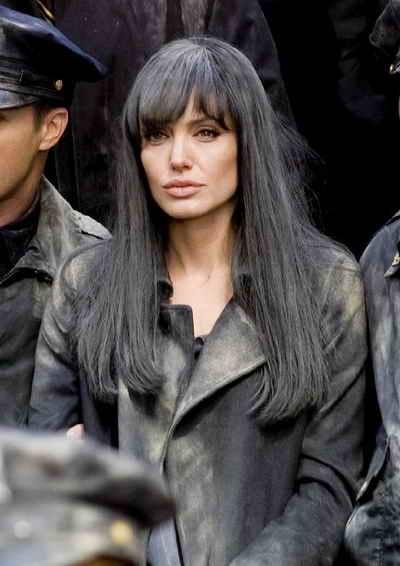 Angelina Jolie in 2010's Salt