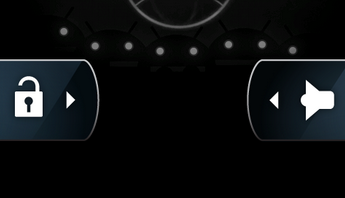 DROID X Unlock and Sound soft buttons