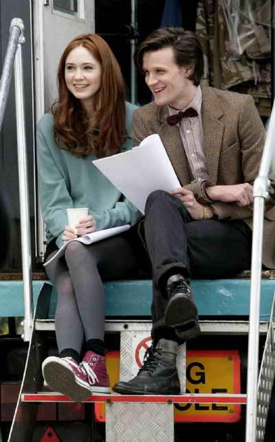 Doctor Who starring Karen Gillan and Matt Smith