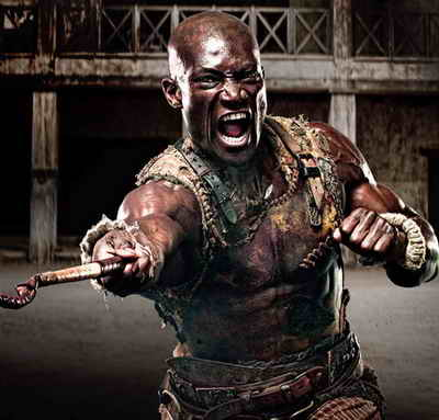 Peter Mensah in Spartacus