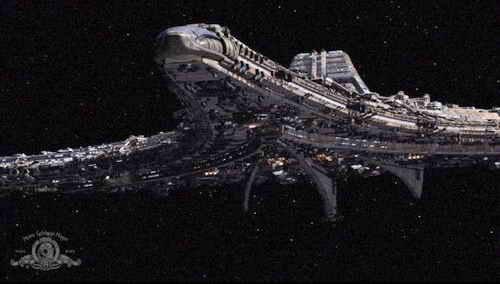 The Destiny from Stargate Universe on Syfy