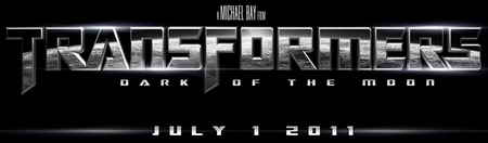 Transformers 3, Transformers Dark of the Moon promo art logo
