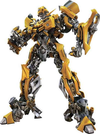 Bumblebee Autobot from Transformers