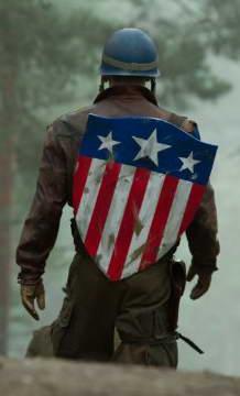 Chris Evans in Captain America The First Avenger