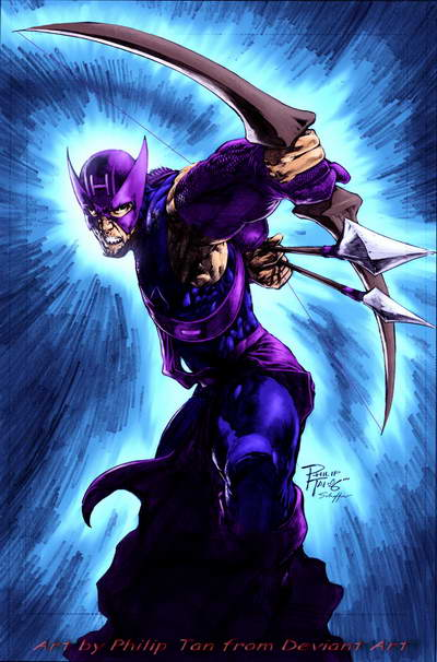 Hawkeye by Philip Tan from Deviant Art