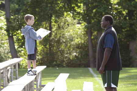 Jae Head and Quinton Aaron in The Blind Side