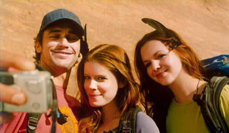 James Franco, Kate Mara and Amber Tamblyn in 127 Hours