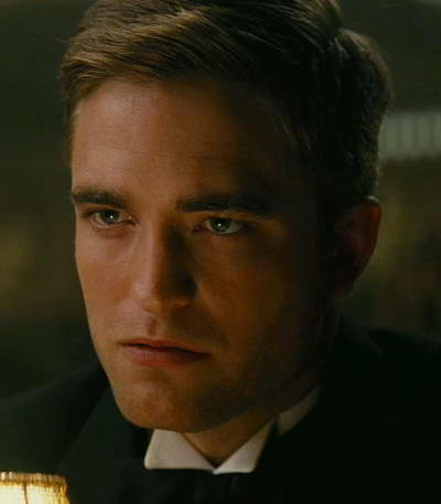 Robert Pattinson in Water for Elephants movie still