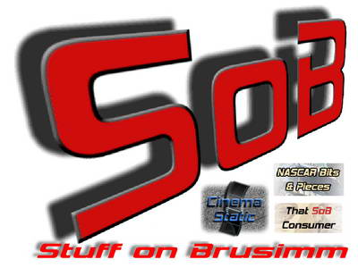 SoB Stuff on Brusimm 400w logo, TV, new movies, entertainment, sports and consumer insights.