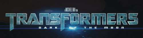 Transformers 3 Dark of the Moon movie logo