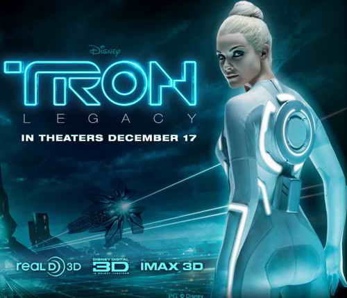 Tron Legacy in theaters Dec 17 2010