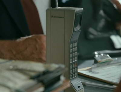 Wall Street Money Never Sleeps Gekko's phone cameo