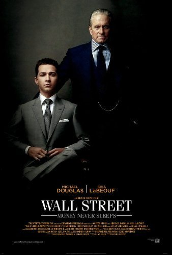 Wall Street Money Never Sleeps movie poster