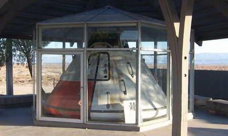 Apollo Park with Apollo 11 capsule