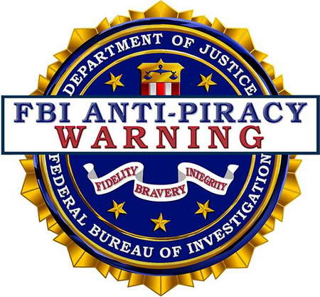 FBI Anti-Piracy Warning - no free movies these days